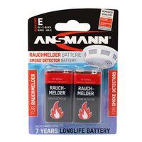 Für weitere Info hier klicken. Artikel: Ansmann 9V-Block Alkaline Batterie 2er Blister für Rauchmelder