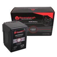 Für weitere Info hier klicken. Artikel: Berenstargh MICRO V190 V-Mount Battery mit 189Wh, 12800mAh, 14,8V, USB5V/2.4A