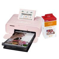 Für weitere Info hier klicken. Artikel: Canon Selphy CP1300 + Papier RP-108 10x15 (108 Blatt) pink