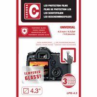 Für weitere Info hier klicken. Artikel: Caruba LCD Optischer Glasschutz 4,3