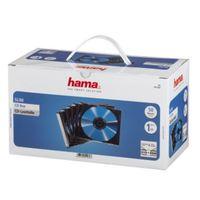 Für weitere Info hier klicken. Artikel: Hama CD-Leerhülle Slim, 50er-Pack, Transparent/Schwarz