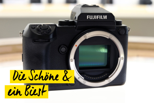 Fujifilm GFX 50S Test Teaser
