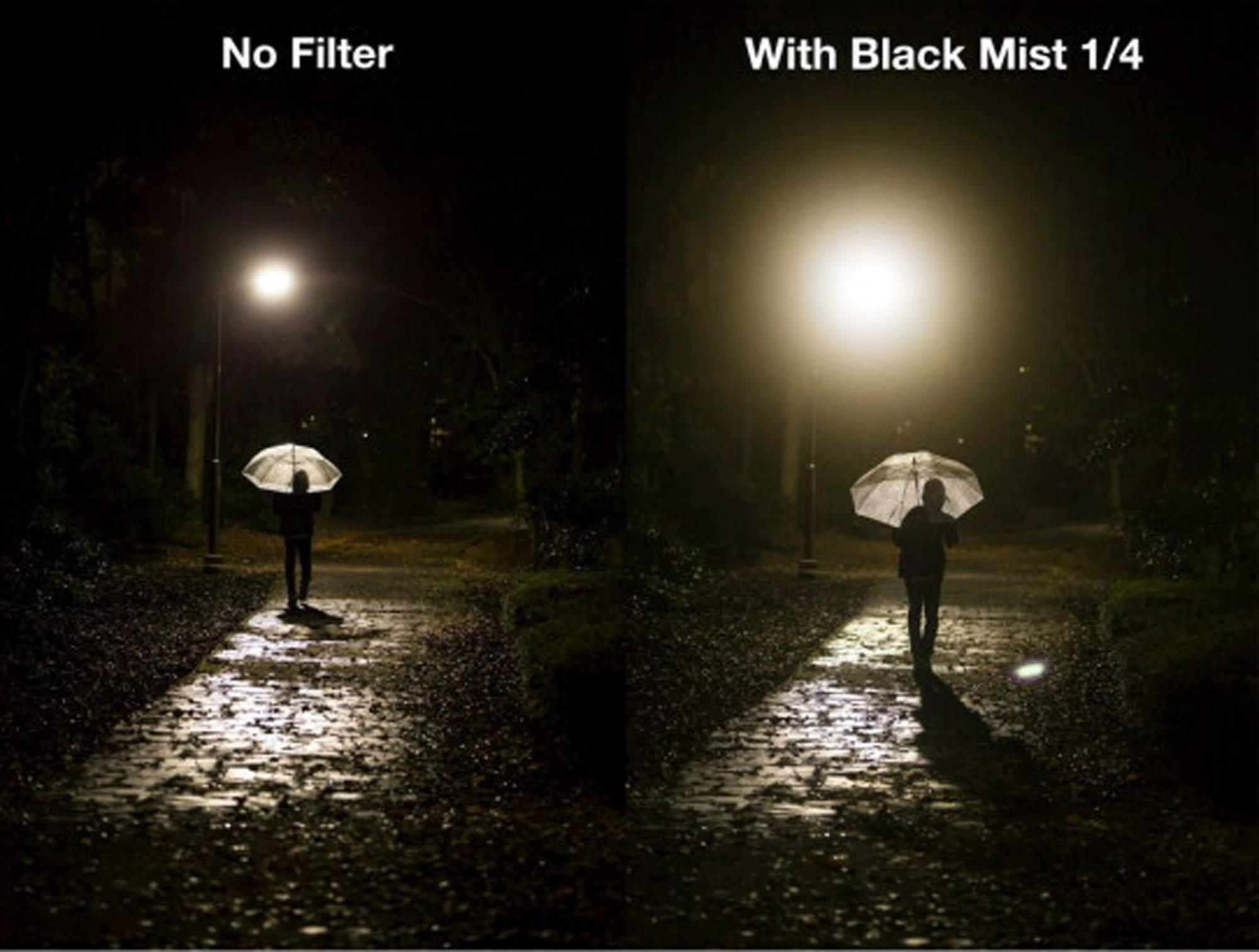 Mist Filter - vorher nachher