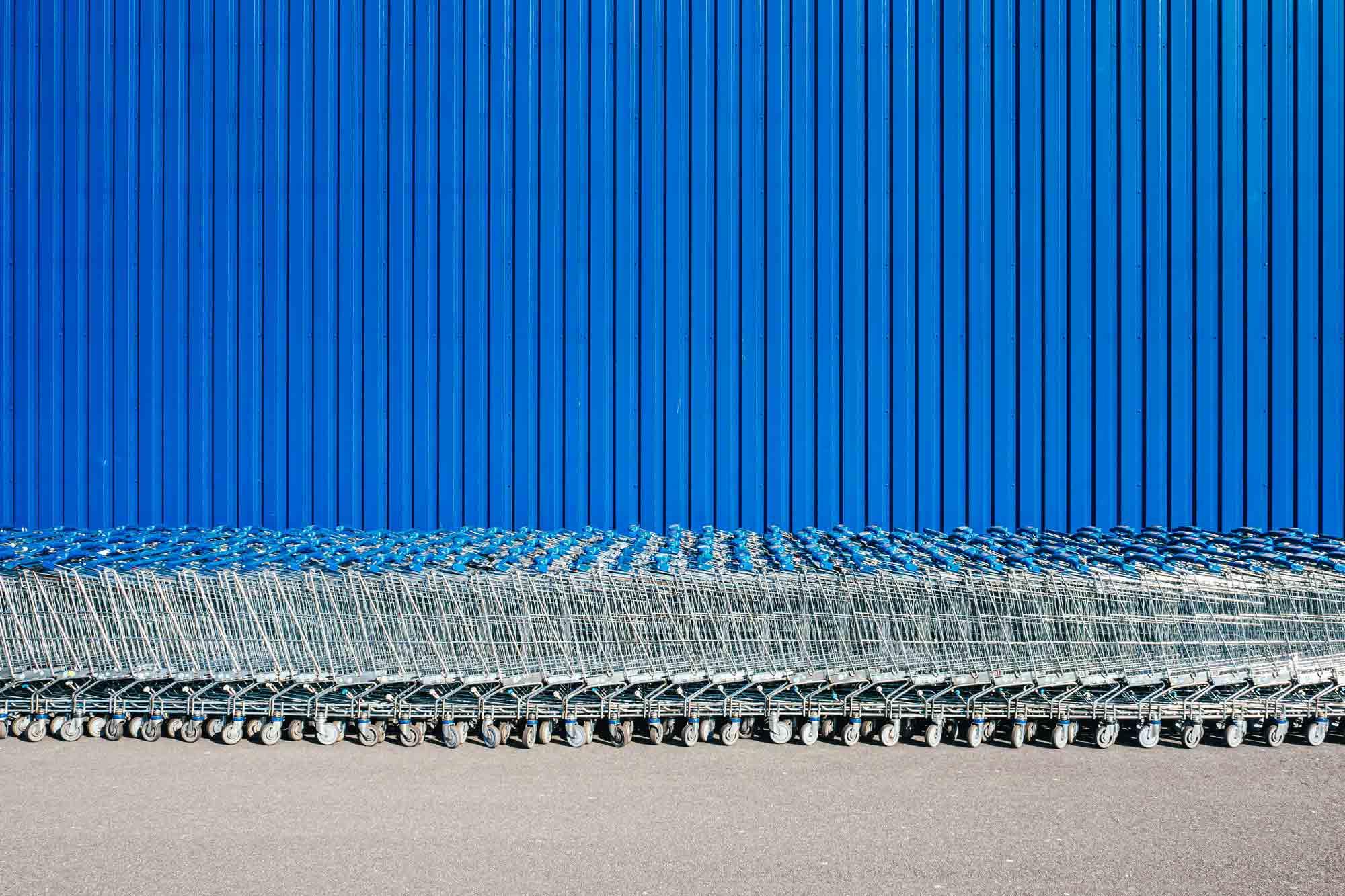 Platz Vier Fotowettbewerb Blau