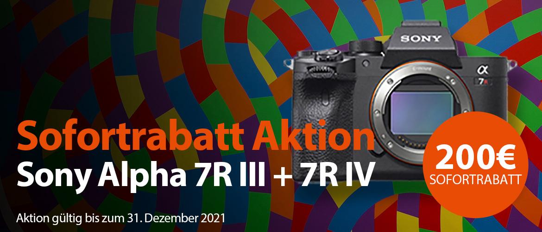 Sony Alpha 7R Aktion